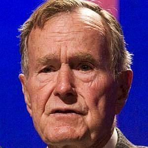 Age Of George H.W. Bush biography