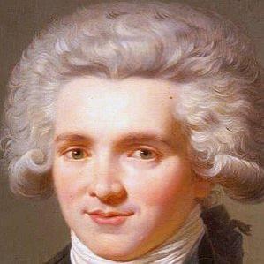 Maximilien De Robespierre bio