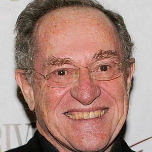 Age Of Alan Dershowitz biography