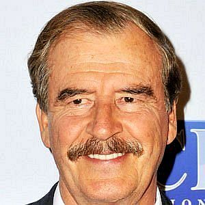 Age Of Vicente Fox biography