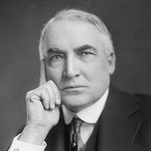 Age Of Warren G. Harding biography