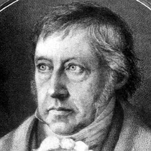 Georg Wilhelm Friedrich Hegel bio