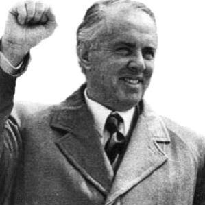 Enver Hoxha bio