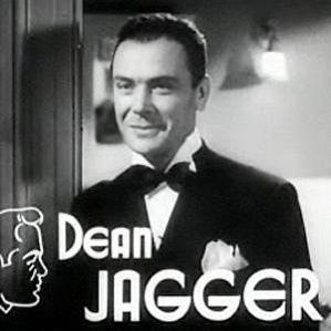 Dean Jagger bio