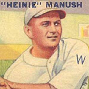 Heinie Manush bio