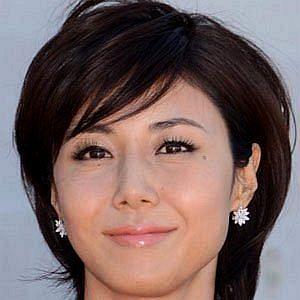 Age Of Nanako Matsushima biography