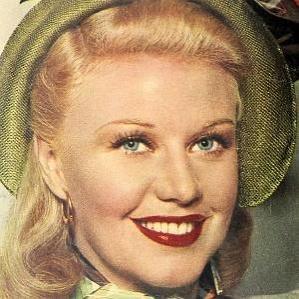 Ginger Rogers bio