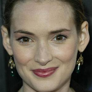 Age Of Winona Ryder biography