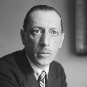 Igor Stravinsky bio