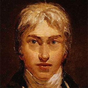 J.m.w. Turner bio