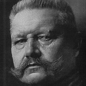 Paul Von Hindenburg bio